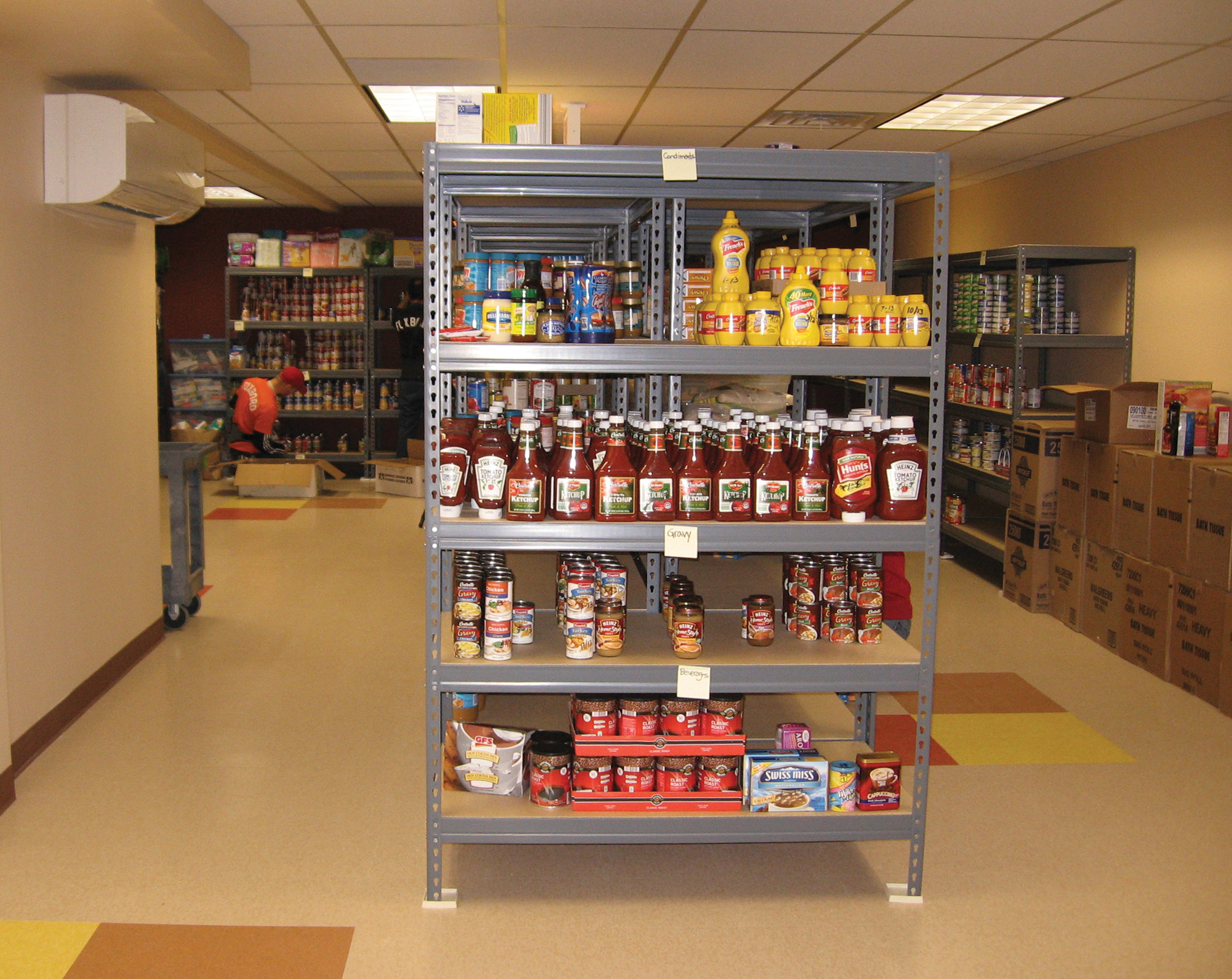 Wheeling Food Pantry Volunteer